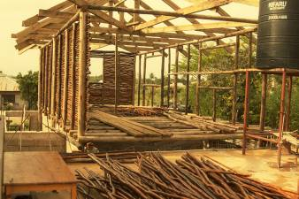 construction of training center